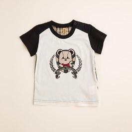 KA稻穗熊印花上衣(共二色)