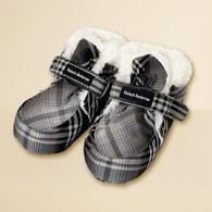 KA格子保暖腳套 (共二色)