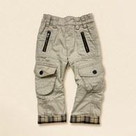 KA多口袋反折休閒褲-共二色