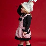 KA女孩俏麗秋冬吊帶裙-共三色
