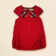 KA氣質女孩秋冬無袖洋裝-紅色
