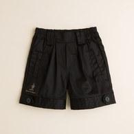 KA褲管釦子造型短褲(共二色)