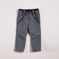 KA曲紋磨毛保暖長褲