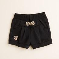 KA格蝴蝶結蕾絲花邊短褲(共二色)