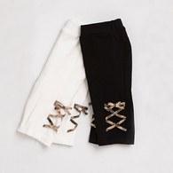 KA格紋造型編織七分褲(共二色)