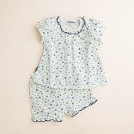 KA滿版印花花短袖套裝 (共二色)