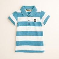 KA粗條紋POLO衫(共二色)
