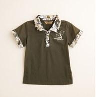 KA動物領男生POLO衫(共二色)