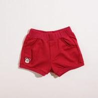 KA後緞帶蝴蝶結造型超短褲(共二色)