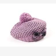KA女童針織貝雷帽