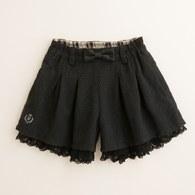 KA蕾絲荷葉邊褲裙