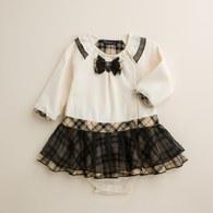 KA層次感網紗裙襬假兩件式女兔裝(共二色)
