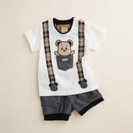 KA口袋熊裝飾吊帶套裝