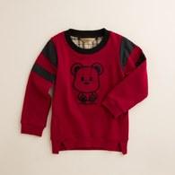 KA3D立體熊側開衩上衣(共三色)