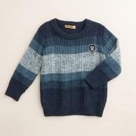 KA漸層配色圓領針織毛衣(共三色)