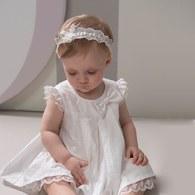 KA立體剪花布女童洋套裝