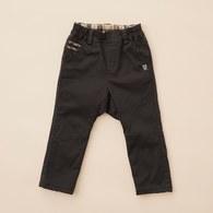 KA經典格搭素色長褲(共二色)