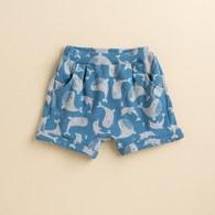 KA夏日棉質滿版鯨魚短褲(共三色)