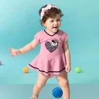 KA休閒網球GIRL裙套裝(共二色)