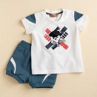 KA休閒網球BOY熊短套裝(共三色)
