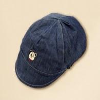 春夏簡易搭單寧BABY帽(藍色)