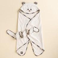 KA星星熊有機棉包巾 (米色)