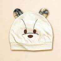 KA星星熊有機棉BABY帽 (米色)
