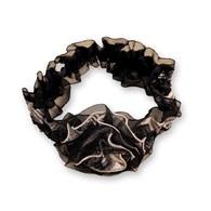 KA女童花朵格紋鬆緊髮帶