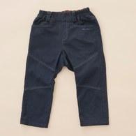 KA直長版搭素色長褲(藍色)