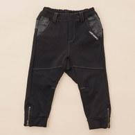 KA好搭配造型男童長褲(黑色)